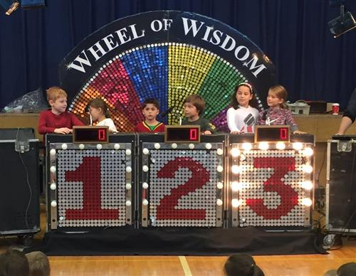 Wheel of Wisdom Game Show